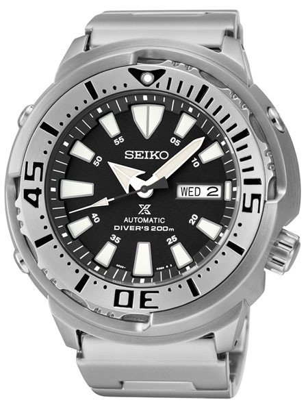 Seiko Prospex Baby Tuna with 24-Jewel Automatic Movement and .