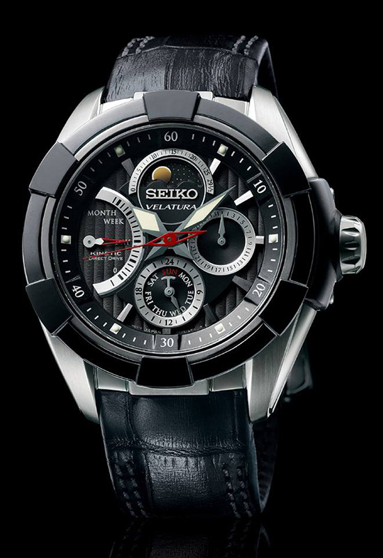 Seiko Marked the Century of Existence with Velatura Kinetic Direct .
