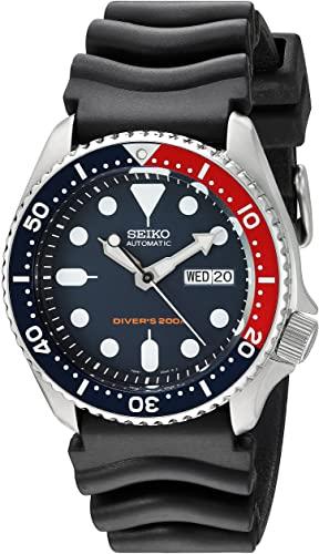 Amazon.com: Seiko Divers Automatic Deep Blue Dial Mens Watch .