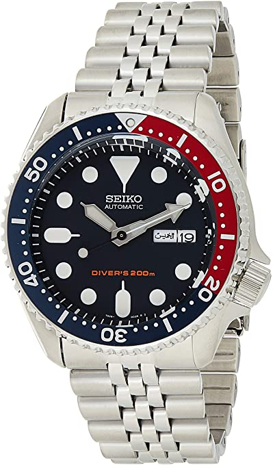 Amazon.com: Seiko Men's SKX009K2 Diver's Analog Automatic .