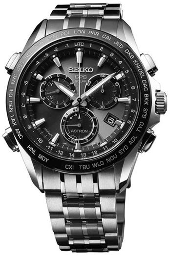 Seiko Astron GPS Solar Chronograph Men's Watch Model: SSE0