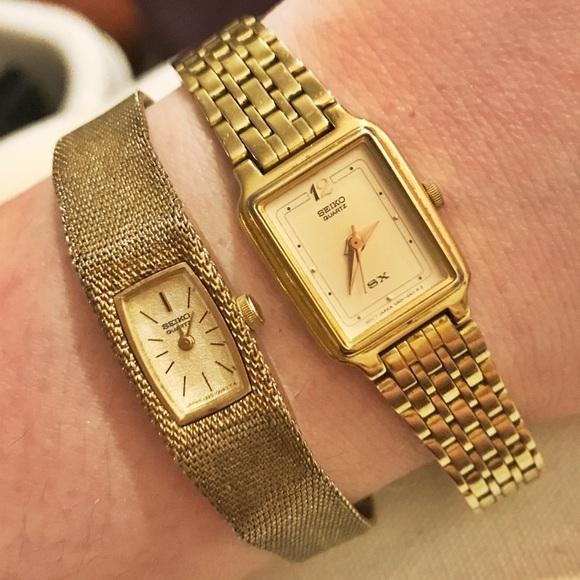 Seiko Accessories | Womens Gold Vintage Watches | Poshma