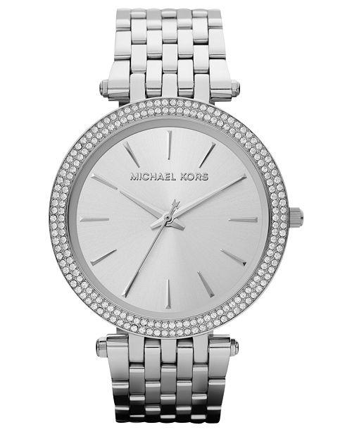 Michael Kors Women's Darci Stainless Steel Bracelet Watch 39mm .
