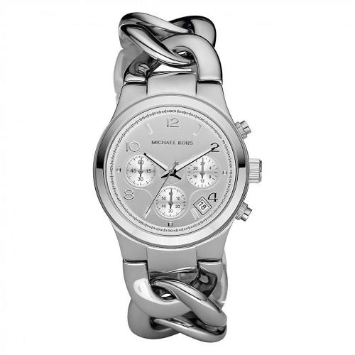 Michael Kors Women's MK3149 Silver Stainless-Steel Quartz Wat