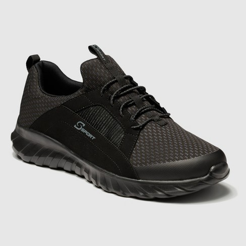 Men's S Sport By Skechers Brennen Athletic Shoes - Black : Targ