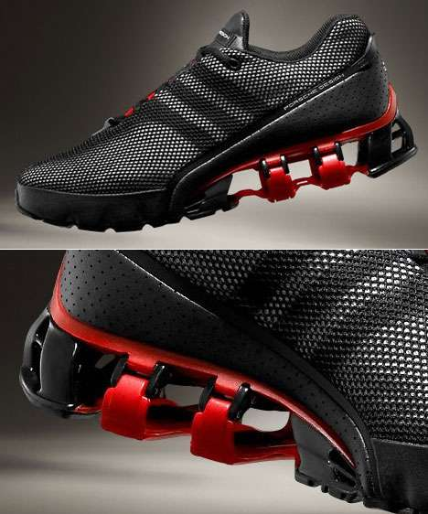 Supercar Spring Shoes: Bounce:S Trainers by Adidas Porsche Design .