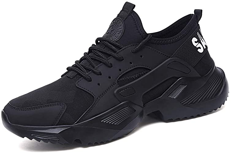 Amazon.com: Vaneemor Work Safety Shoes for Men Steel Toe Shoes .