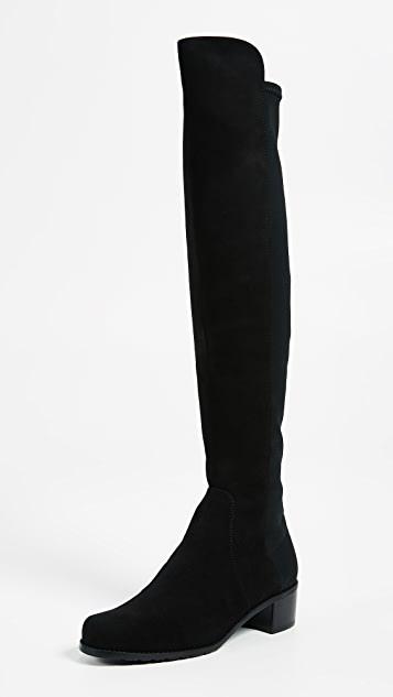 Stuart Weitzman Reserve Stretch Suede Boots | SHOPB