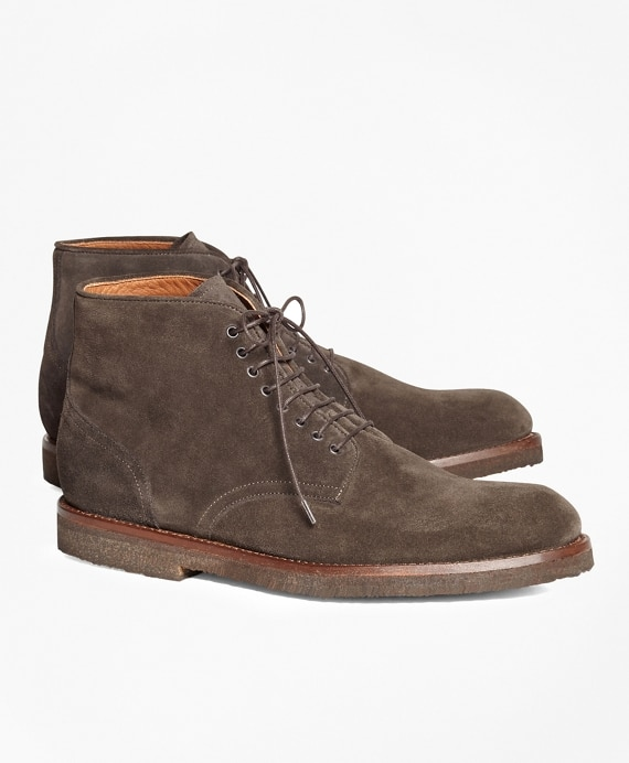 Suede Boots - Brooks Brothe