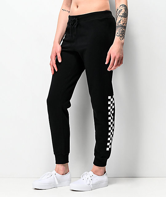 Vans Unseen Black Checkerboard Sweatpants | Zumi