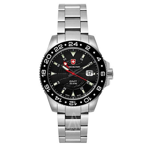 Buy Swiss Military GMT Men's Watch 2771- Ashford.c
