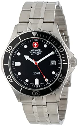 Wenger Swiss Military Men's 70996 Alpine Diver Military Watch .
