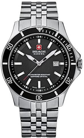 Amazon.com: Hanowa Swiss Military Flagship Mens Wristwatch Classic .