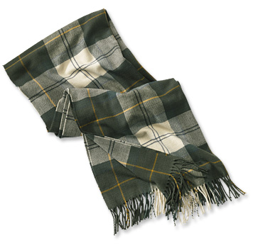 Barbour® Modern Country Tartan Scarf - Orv