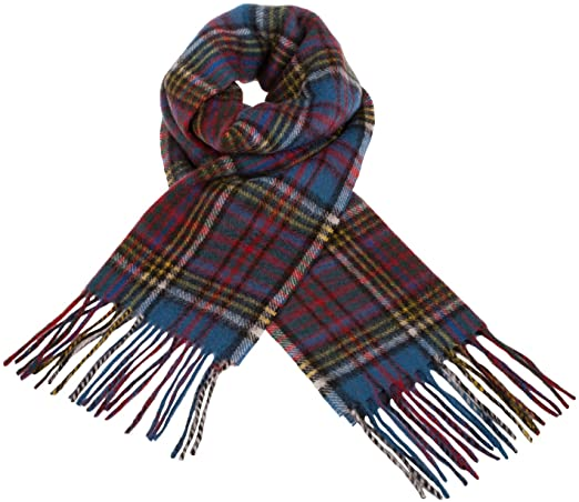 Clans Of Scotland Scottish Tartan Cashmere Scarf Anderson (One .
