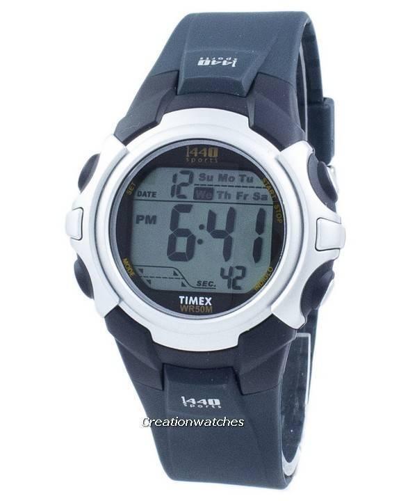 Timex 1440 Sports Indiglo Alarm Wi-Fi Digital T5J571 Men's Wat
