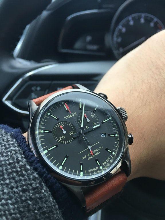 Timex] Waterbury Chronograph : Watches | Timex watches, Luxury .