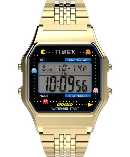 Timex x Pac Man 34mm Stainless Steel Bracelet Watch - Timex