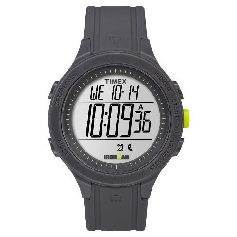 Timex Ironman Essential 30 Lap Digital Watch - Black TW5M14500JT .