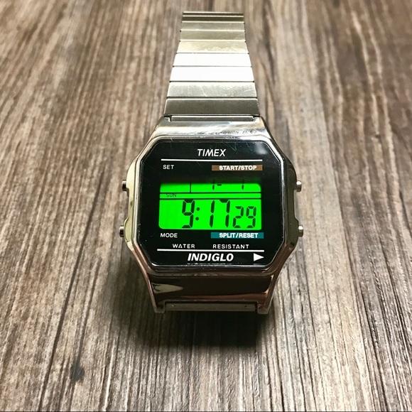 Timex Accessories   Mens Classic Digital Watch   Poshma