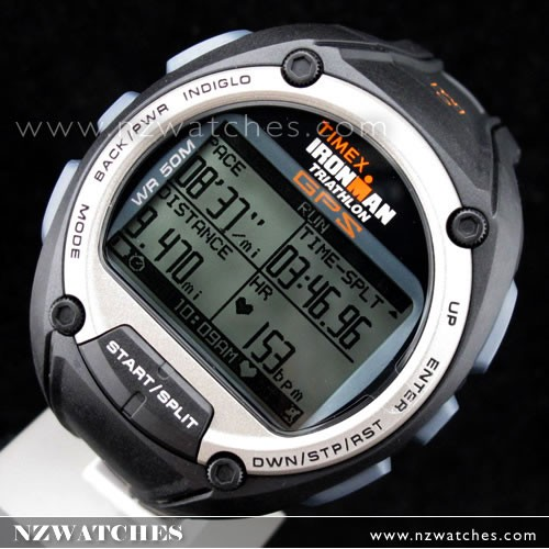 BUY TIMEX Ironman Global Trainer GPS and HRM Speed+Distance T5K444 .