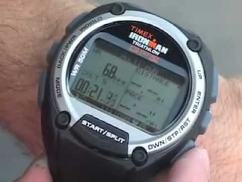 TIMEX® Ironman Global Trainer with GPS: How-to use Multisport .
