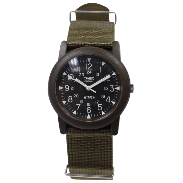 stay246: It is good WTAPS (double taps) X TIMEX military watch .