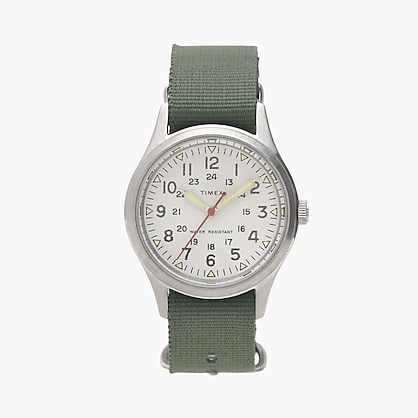 J.Crew: Timex® for J.Crew vintage field army watch for M