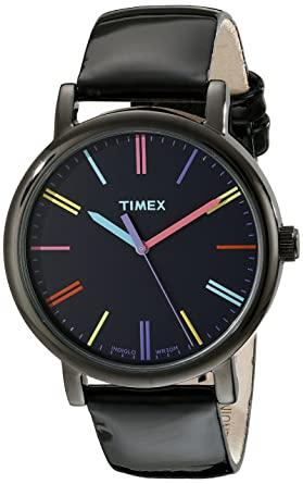 Timex Unisex T2N790AB Originals Black Watch: Amazon.co.uk: Watch