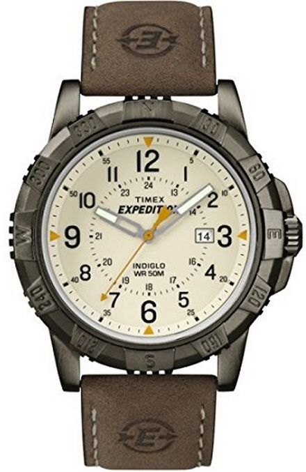 Men's Brown Timex Expedition Rugged Metal Watch T499