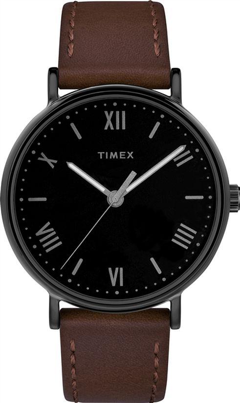 Men's Timex Southview Multifunction Black Dial Watch TW2R803