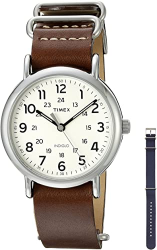 Amazon.com: Timex Unisex TWG012500QM Weekender Watch With Two .