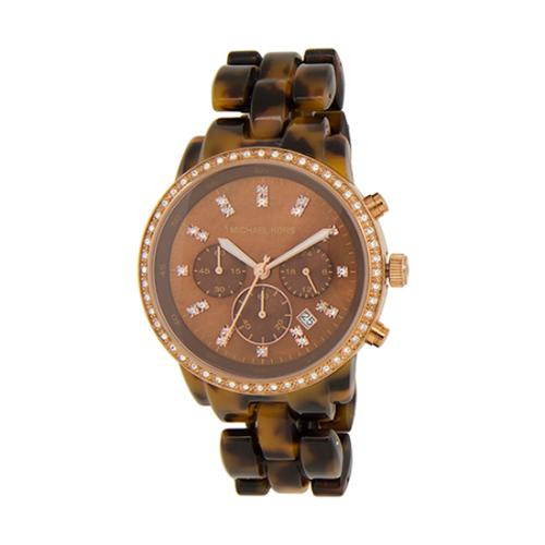 Tortoise Watches By Michael Kors