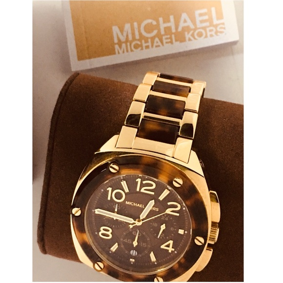 Accessories | Mens Michael Kors Tortoise Shell Watch | Poshma