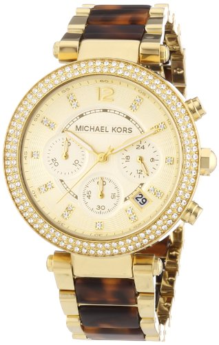 Best Price Fast Shipping Michael Kors Watches Parker (Gold and .