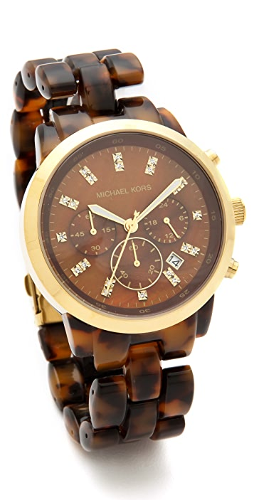 Michael Kors Tortoise Watch | SHOPB