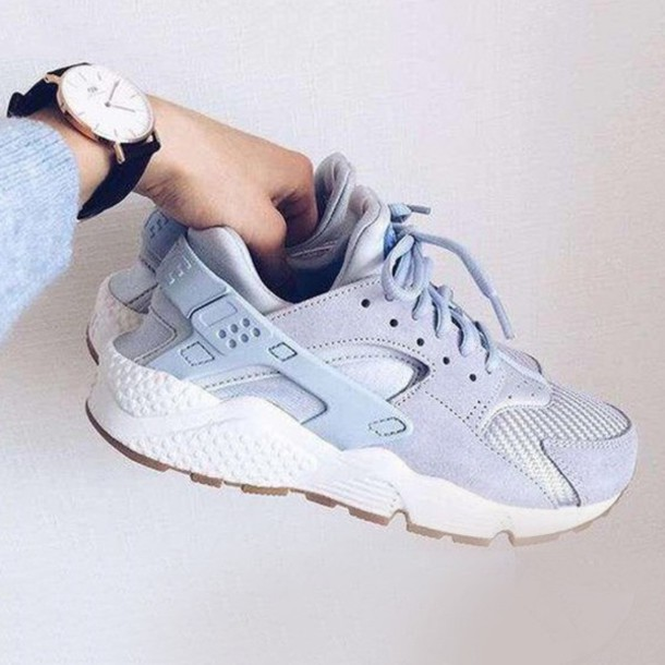 shoes, sneakers, blue, light blue, baby blue, fashion, style .