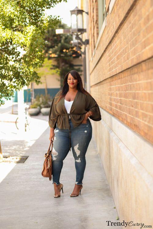 Trendy Curvy | Plus Size Fashion & Style Blog in 2020 | Plus size .