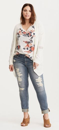 158 Best plus size outfits for spring images | Plus size outfits .