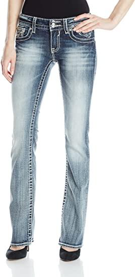 Amazon.com: VIGOSS Women's Chelsea Bootcut Jean: Clothi