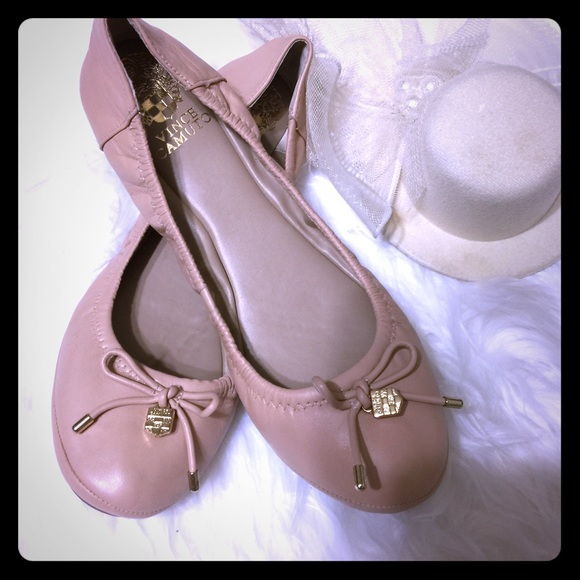 Vince Camuto Shoes | Sale Eryn Leather Ballet Flats | Poshma