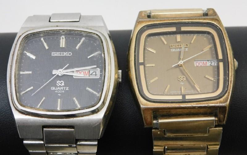 Mens Vintage Seiko Quartz 4004 & Day Date Watches - shopgoodwill.c