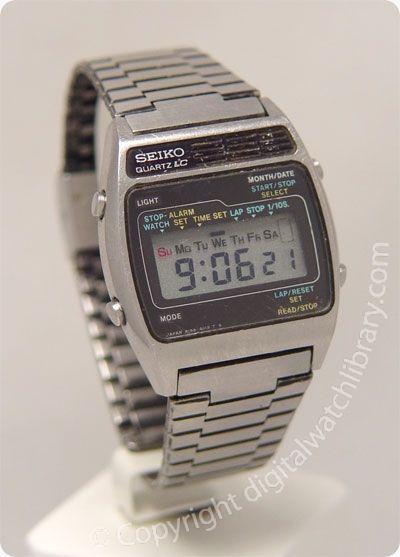SEIKO - A159-4019 - a-series - Vintage Digital Watch | Vintage .