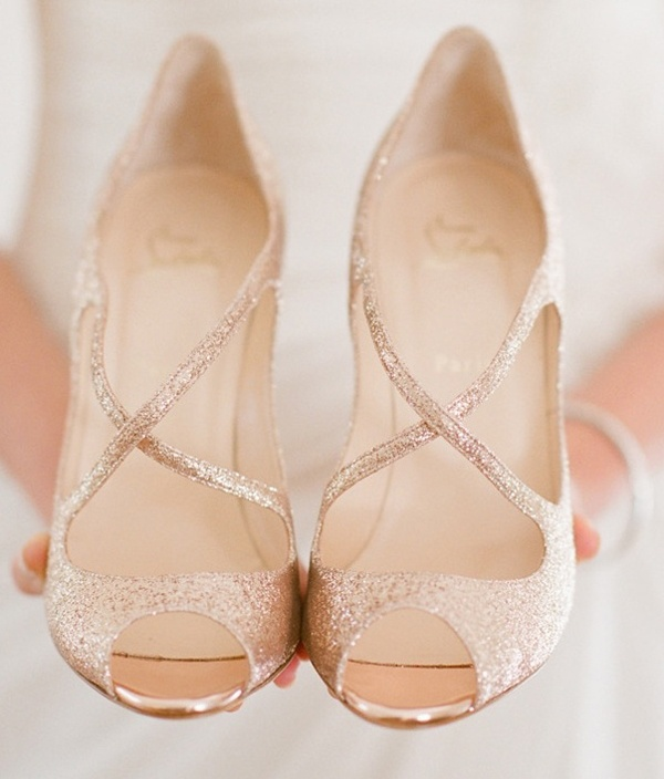 Bridal fashion: 3 gorgeous wedding heel styles for the big day .