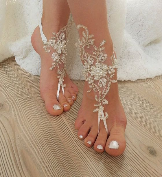 Bridal Shoes Beach Wedding: Comfortable Shoes for Beach Wedding .