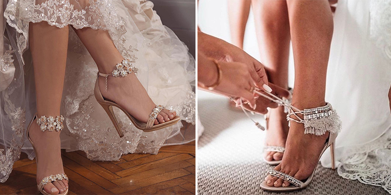 26 Stunning Pairs of Bridal Shoes Ide