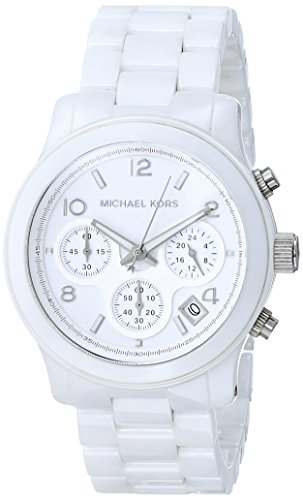 Amazon.com: Michael Kors Ceramic White Watch MK5161: Michael Kors .