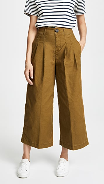 Madewell Pleated Wide Leg Pants | SHOPB