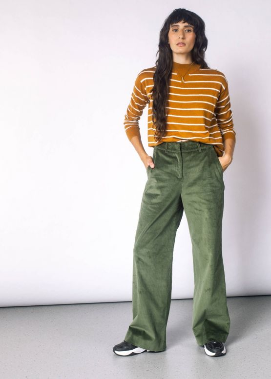 Empower Corduroy Wide Leg Pant | Wildfang - Style + Culture for .