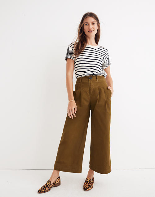Women's Pleated Wide-Leg Pants | Madewe